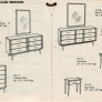 lane-acclaim-dressers vintage
