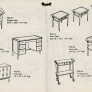 lane-acclaim-end tables and desk