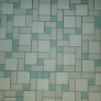 mosaic-tile-floor-for-a-midcentury-bathroom