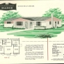 vintage ranch house 1950