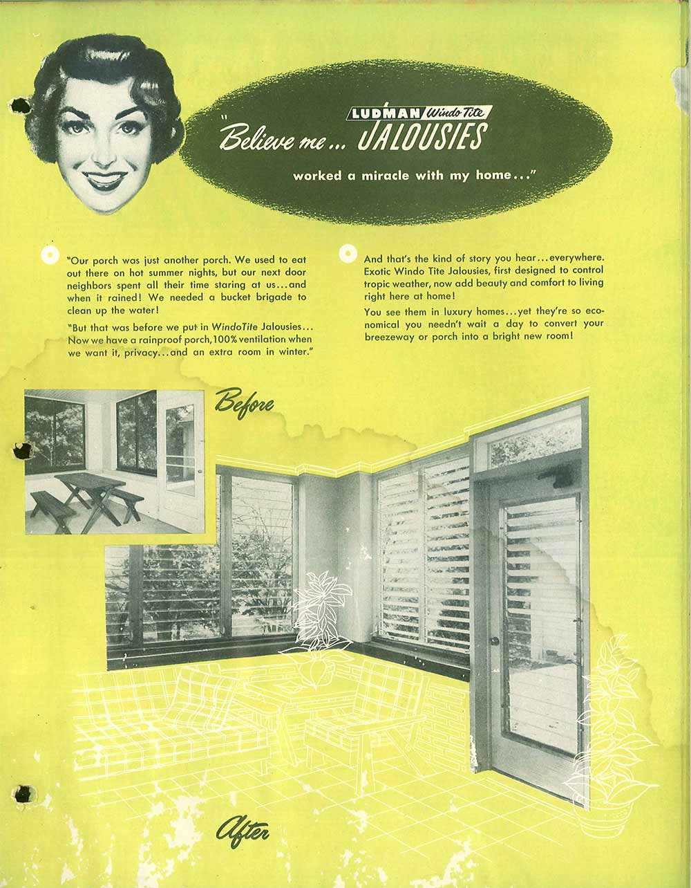 Jalousie Windows Their History And Where To Buy Them