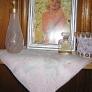 marilyn monroe in a lynnes knotty pine pink bathroom