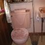 vintage homart pink toiletby sears