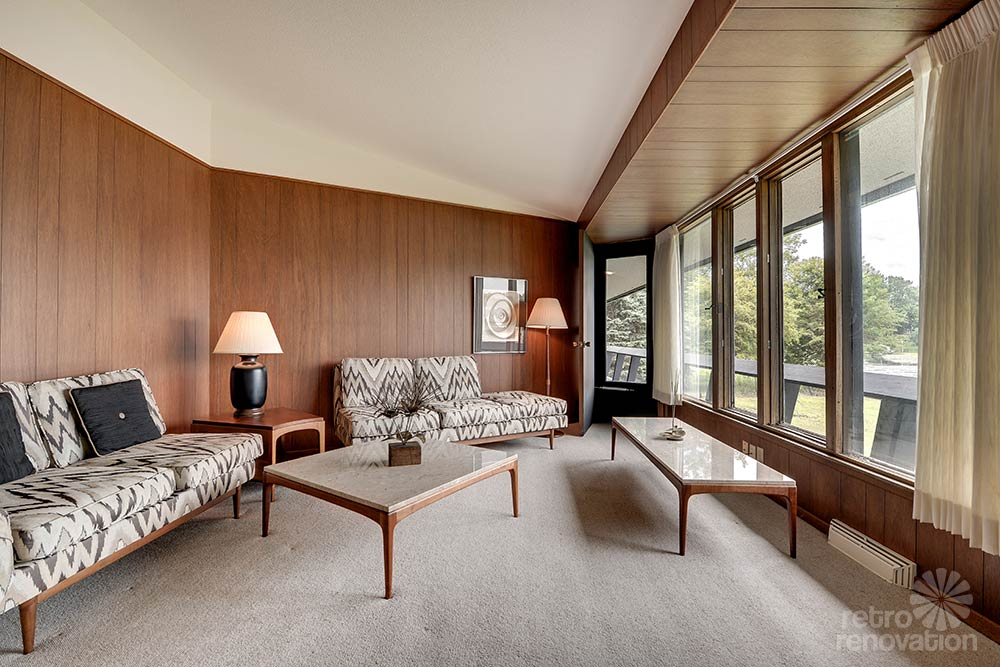 stunning spectacular 1961 mid century modern time capsule house in minnesota 66 photos. Black Bedroom Furniture Sets. Home Design Ideas