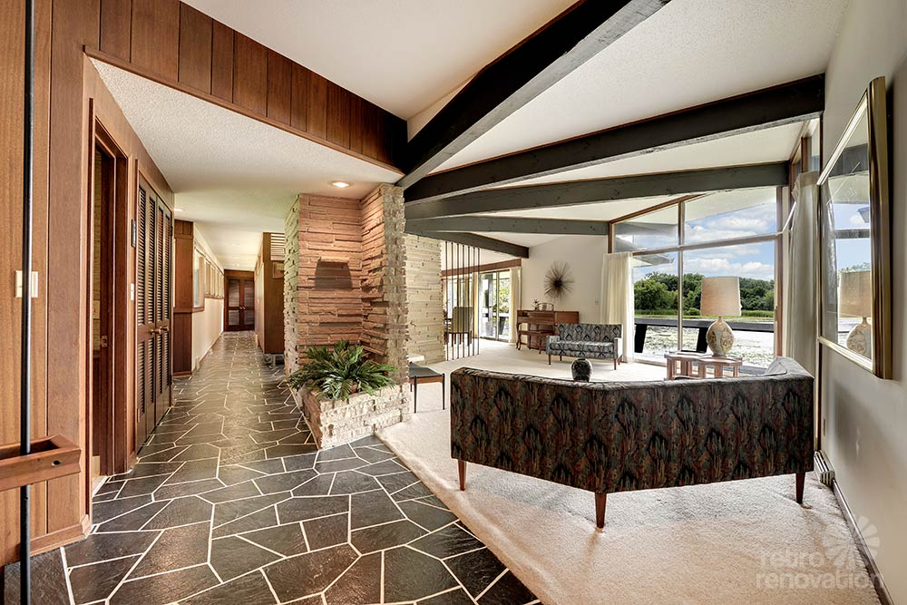 Stunning Spectacular 1961 Mid Century Modern Time Capsule