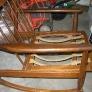 Mid century danish rocking chair