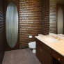 midcentury-metallic-tile-bathroom