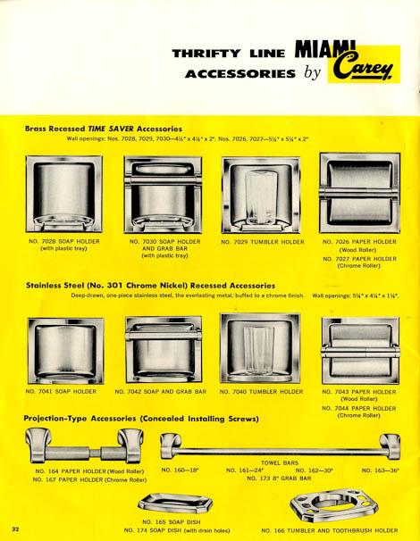 42 Vintage Medicine Cabinets From Miami Carey Circa 1955