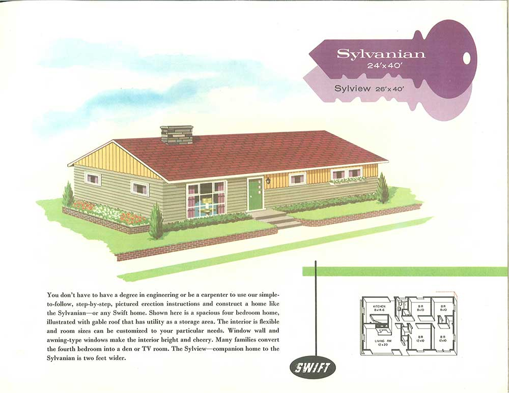 1960s Ranch House Plans Escortsea