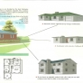 ranch house plan variations retro vintage mid century