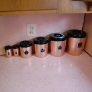 mid-century-50s-pink-and-pine-kitchen-laminate-countertop-canisters