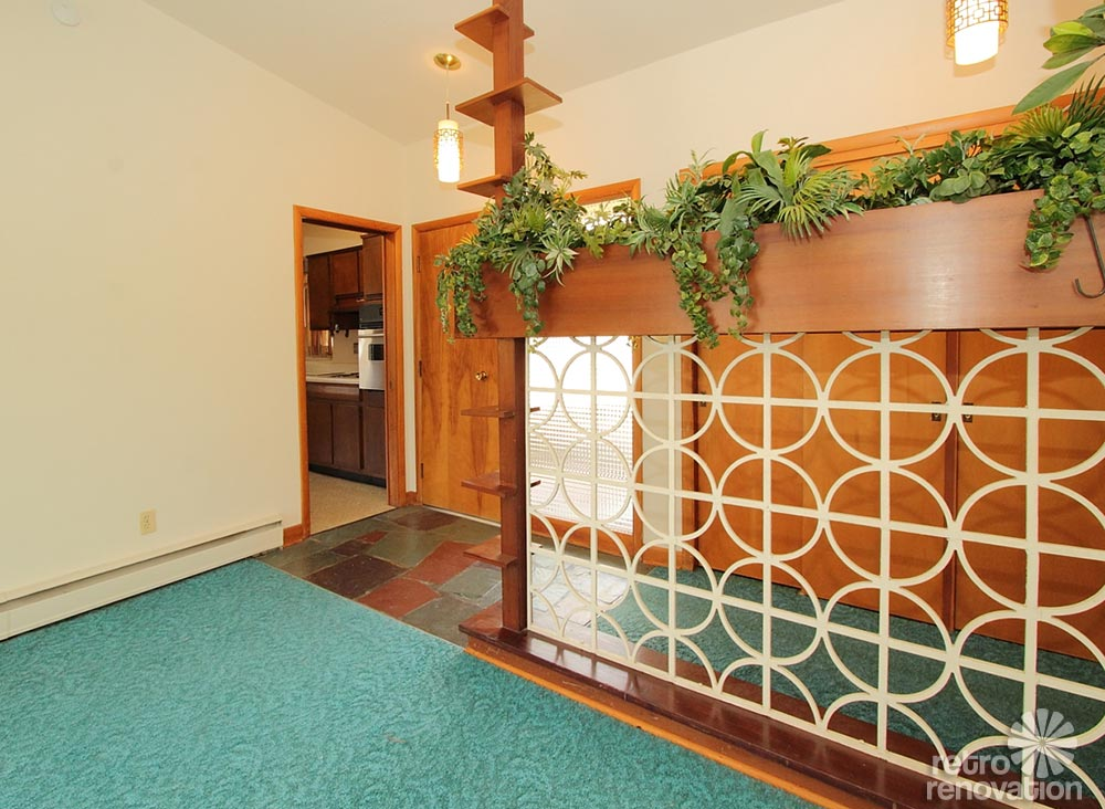 Kitchen Bath Remodel Gives Mid Century Home Modern Updates: Warm And Beautiful 1962 Mid-century Modern Brick Ranch