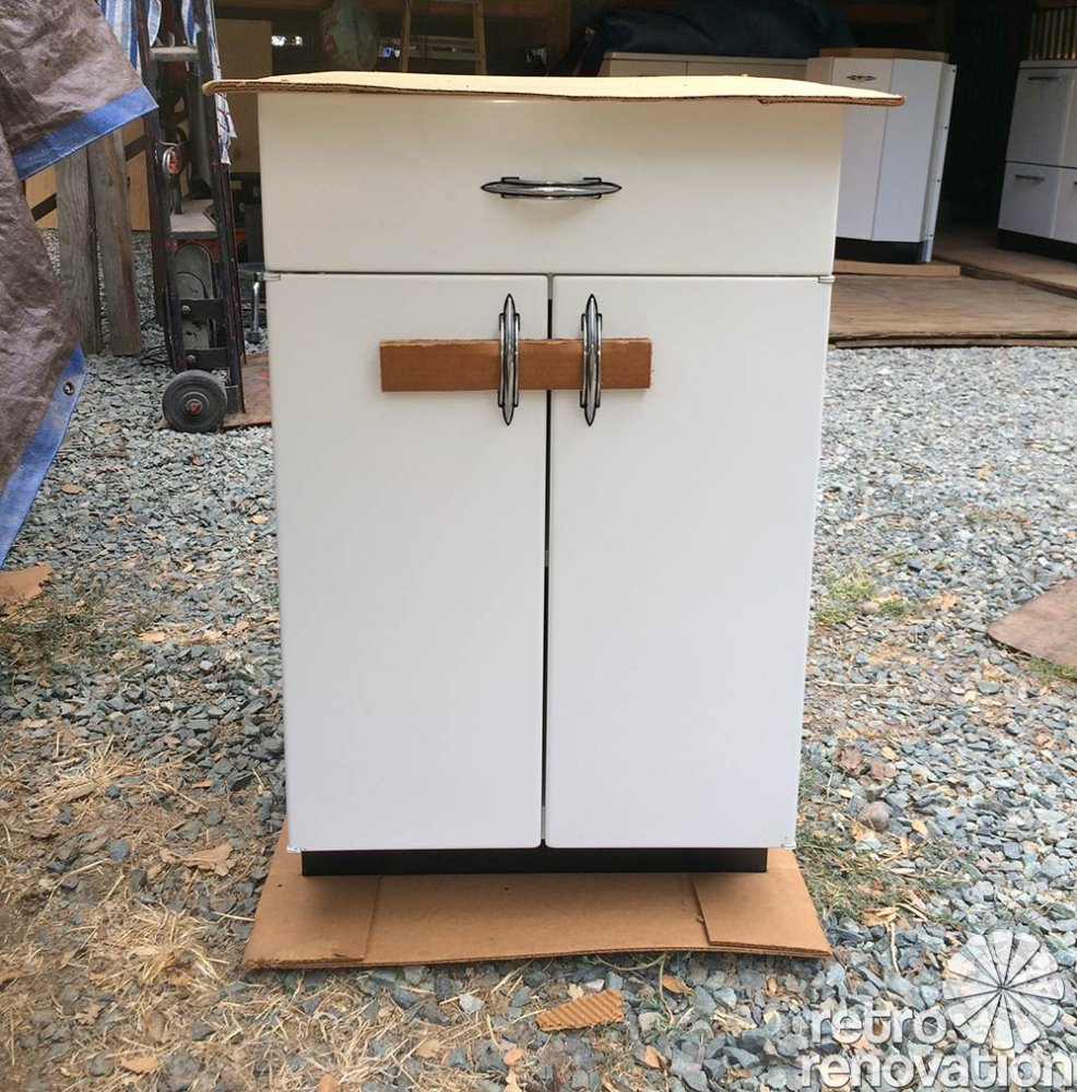 Sale 1950s Kitchen Cabinets: Boxed Up For 67 Years And Now Set Free: Brand New 1948