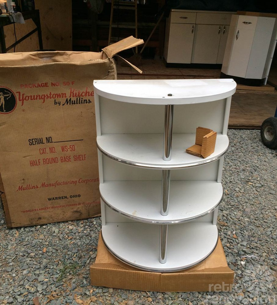 New Metal Kitchen Cabinets: Boxed Up For 67 Years And Now Set Free: Brand New 1948