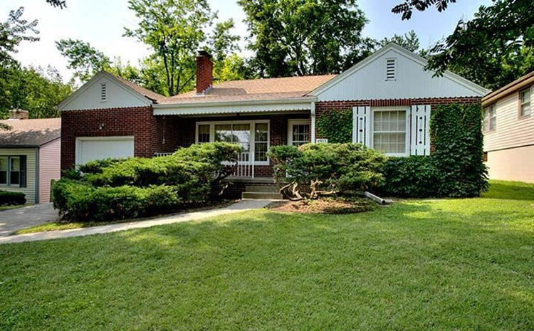 1949 time capsule house filled with original charm retro for 1940s homes exterior design
