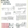 vintage GE Textolite laminate construction and edging