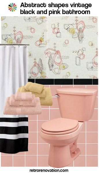 99 ideas to decorate a pink bathroom complete slide show for Black white and pink bathroom ideas