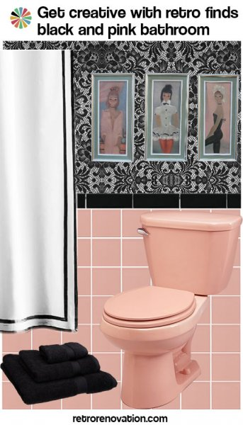 black and pink bathroom ideas 99 ideas to decorate a pink bathroom complete slide show 23169