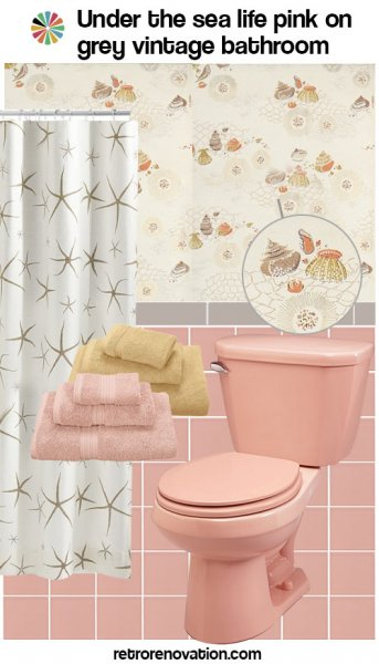 99 ideas to decorate a pink bathroom complete slide show for Pink and grey bathroom ideas