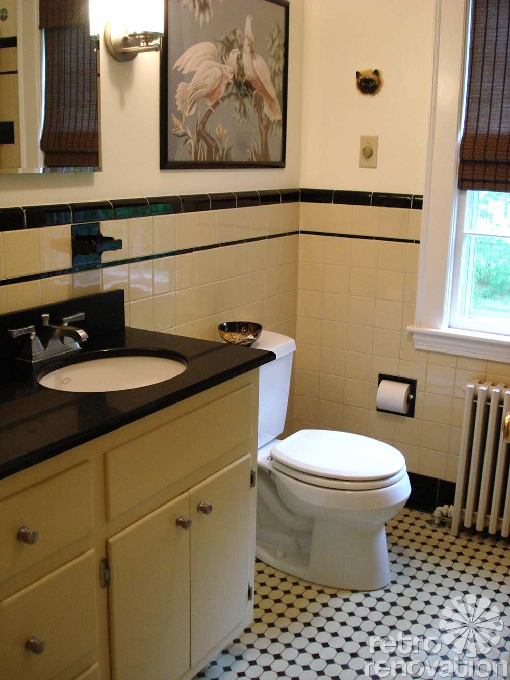 Vintage bathroom tile 171 photos of readers 39 bathroom for Old bathroom renovation