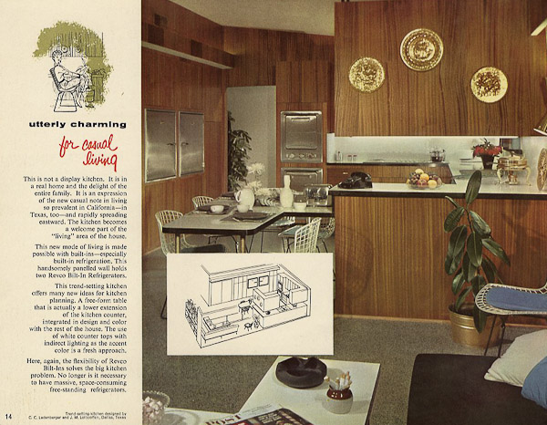 Revco Bilt In Refrigerators 17 Pages Of Designs From 1956 Retro Renovation
