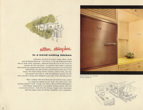 Revco Bilt In Refrigerators 17 Pages Of Designs From