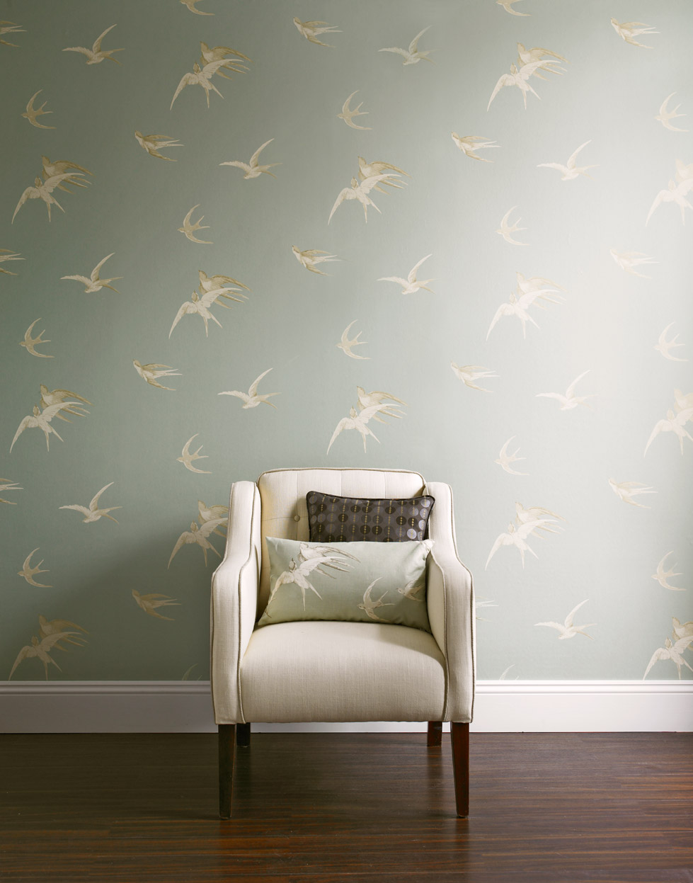 sanderson vintage wallpaper slide show retro renovation. Black Bedroom Furniture Sets. Home Design Ideas