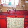 70s-red-metal-sink-cabinet