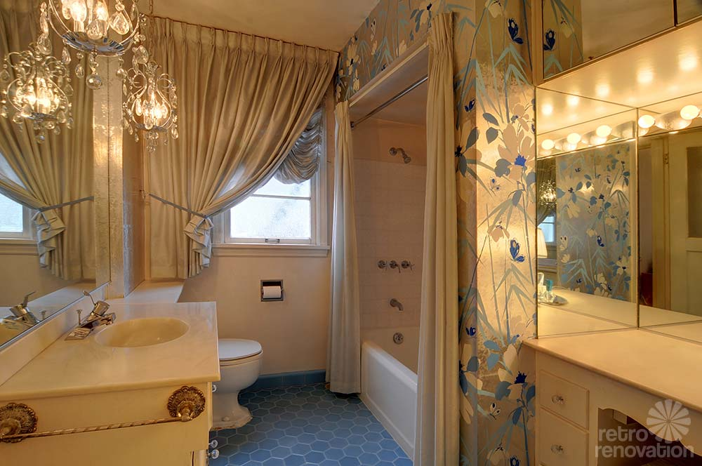 Bathroom Another Stunning Show: Same Owners For 70+ Years, This 1940 Seattle Time Capsule