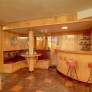 vintage-knotty-pine-bar-basement