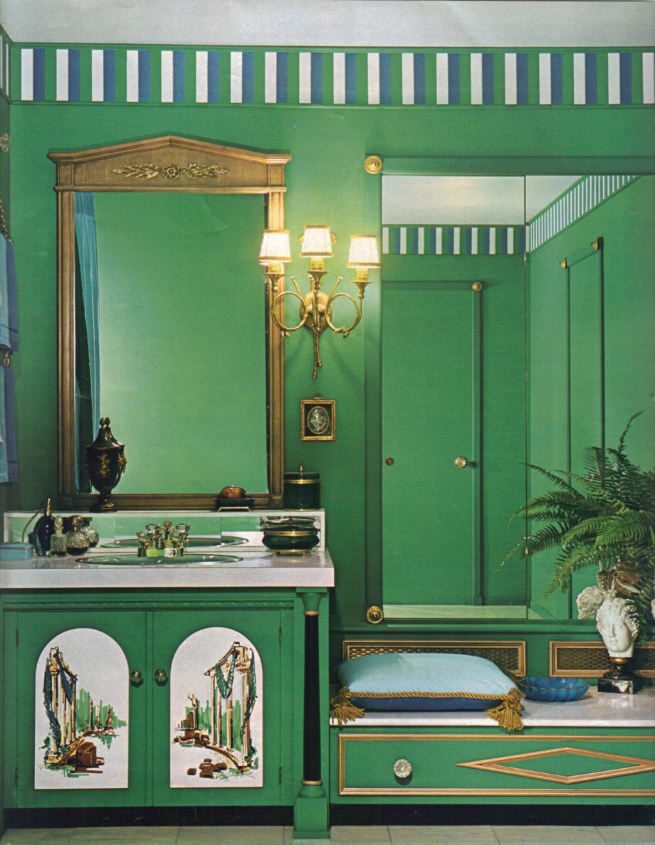 1960s Bathroom Design Ideas ~ Mod interior designs from retro renovation