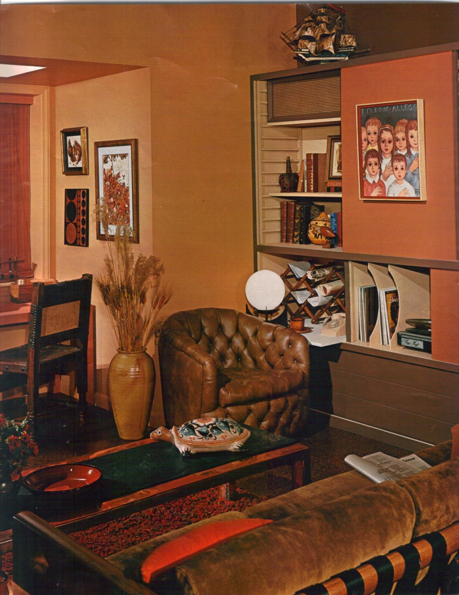 Interior Design Ideas For Living Rooms: 16 Mod Interior Designs From 1968
