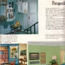 1960s-properly-hanging-pictures-blue-foyer