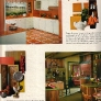 60s-orange-party-kitchen-green-and-pine-cabinets
