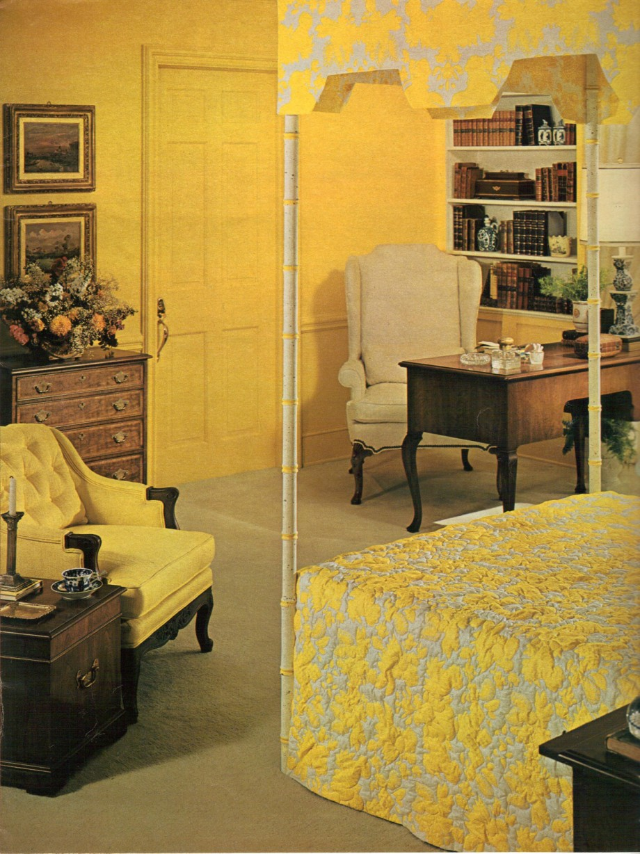 1960s Decorating Style 16 Pages Of Painting Ideas From