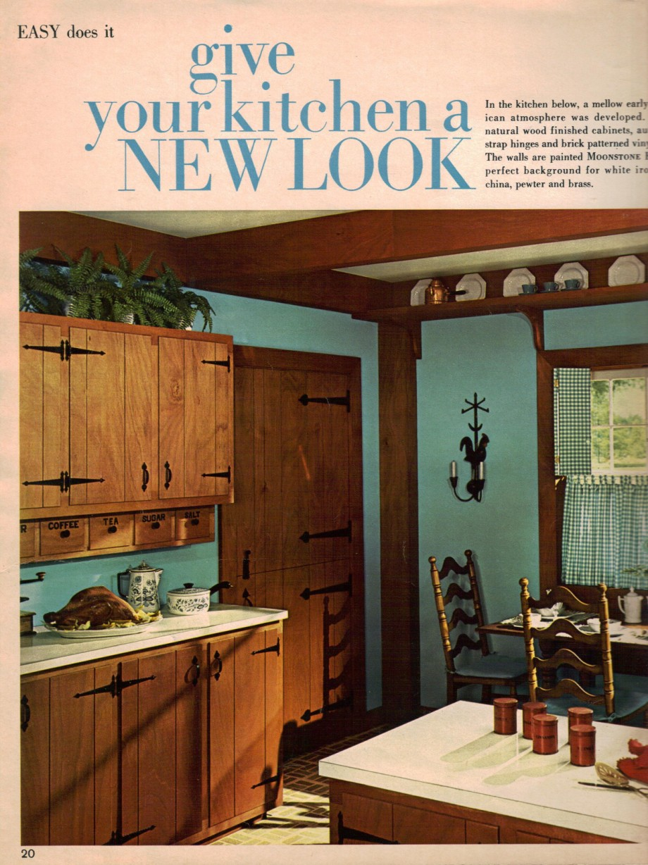 1960s decorating style 16 pages of painting ideas from for 60s kitchen ideas
