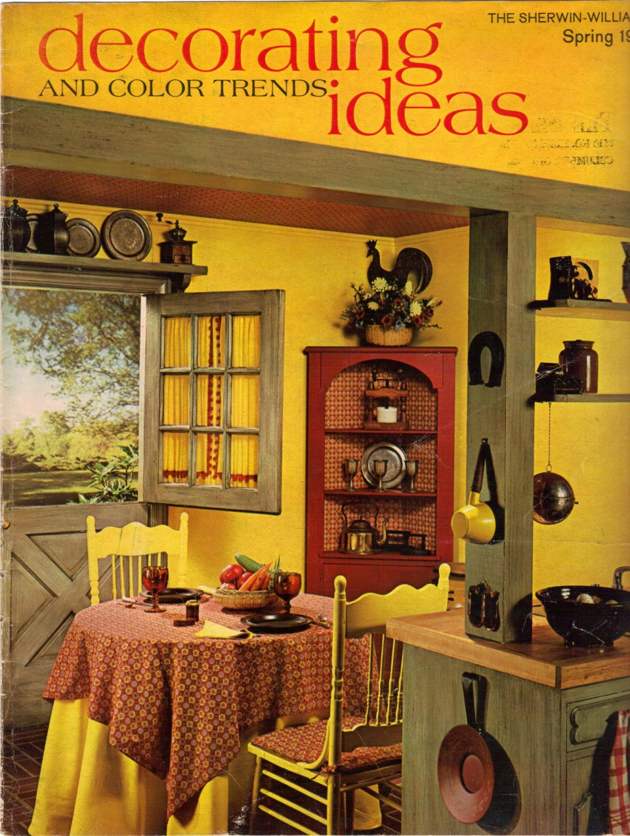 16 Pages Of Painting Ideas From 1969 Sherwin-Williams