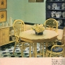 1969-yellow-dining-room-painted-floor
