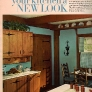 60s-wood-cabinet-kitchen-blue-walls