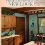 60s-wood-cabinet-kitchen-blue-walls