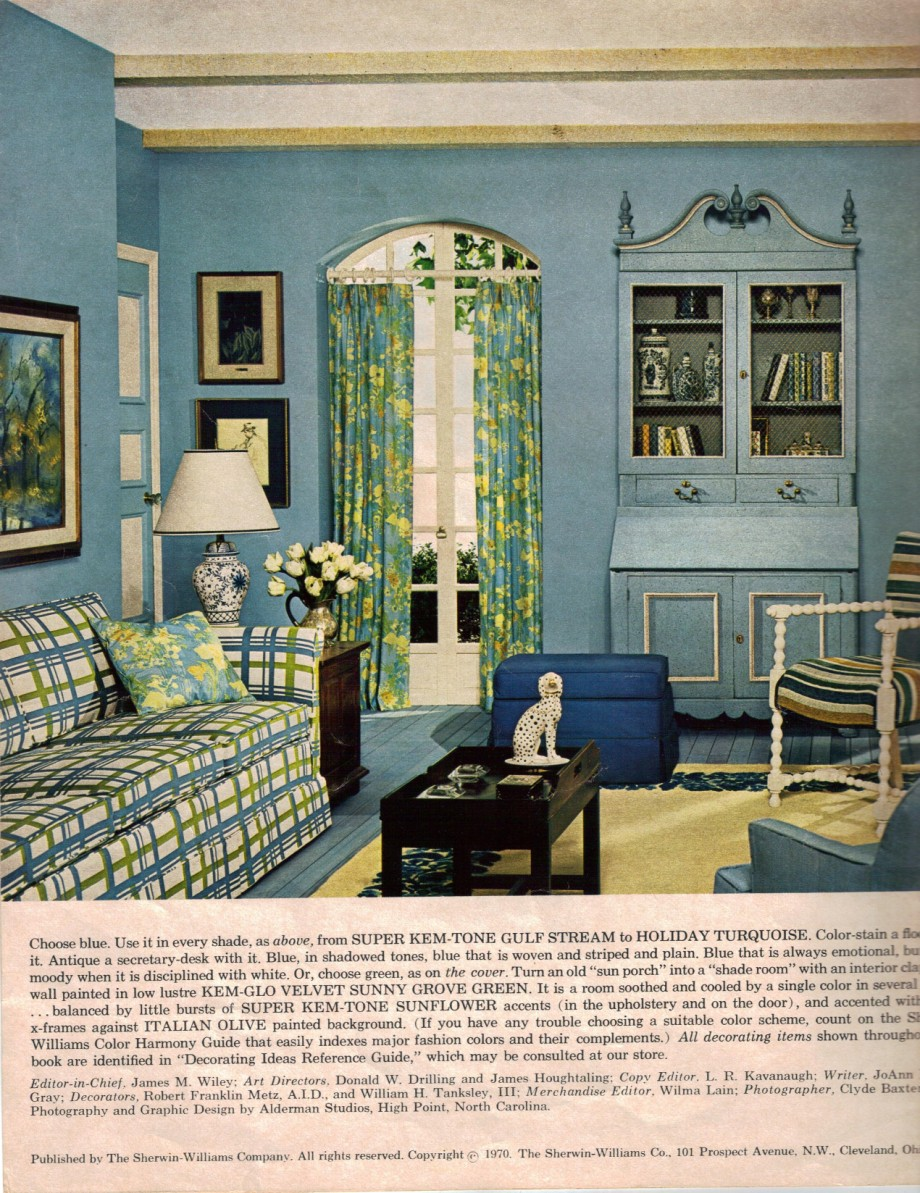 19 interior designs from 1970 retro renovation - Pictures of decorated living rooms ...