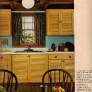 1970s-maple-wood-cabients-kitchen-blue-walls