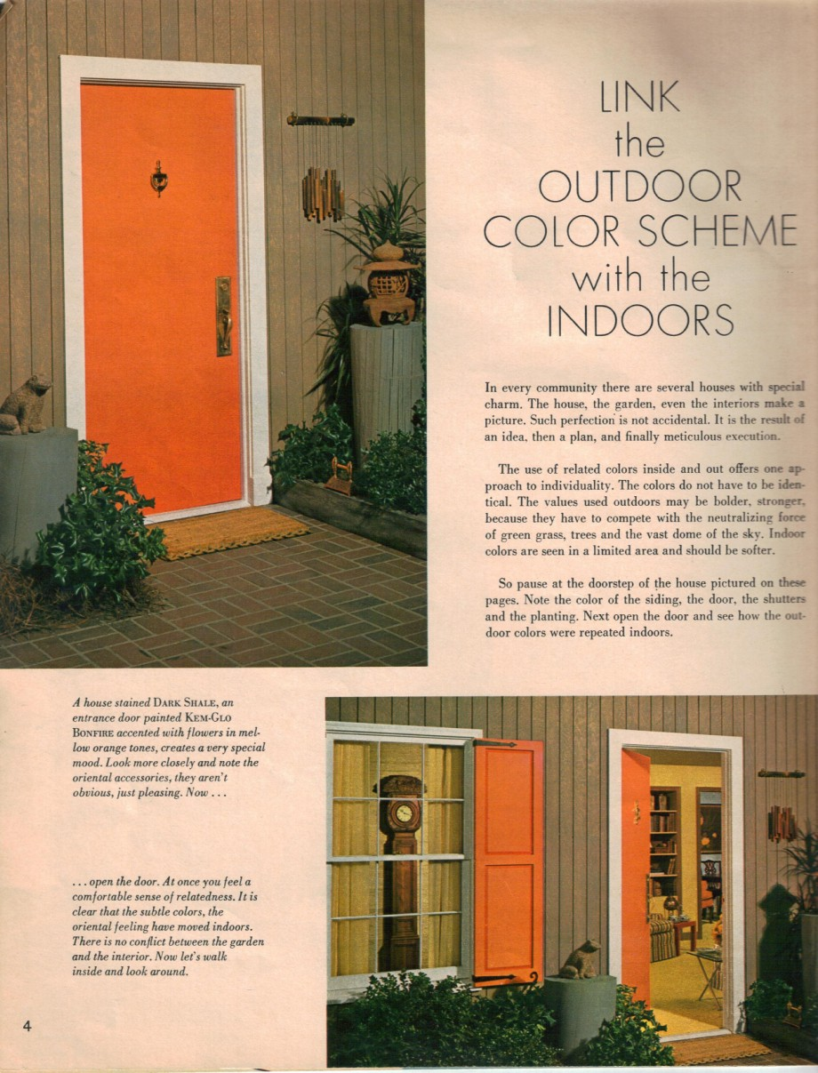 Hippie decor & more 1960s interior design ideas -- 15 pages of ...