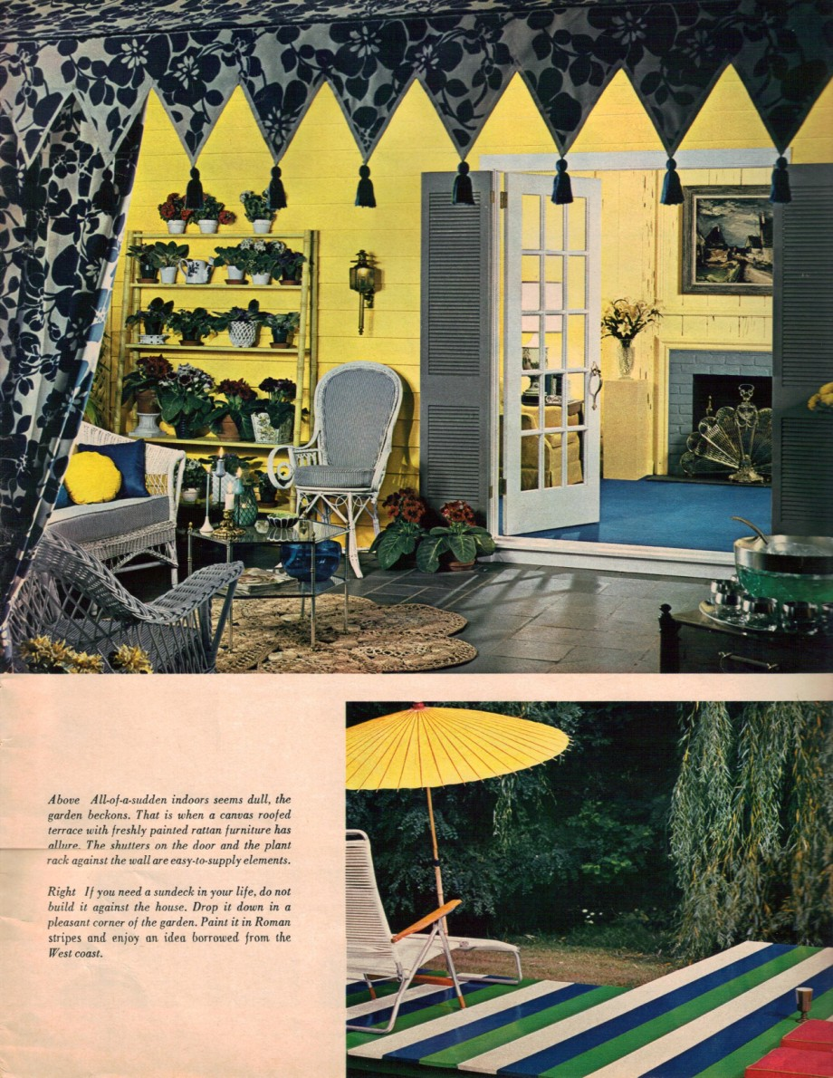 1960s interior decor