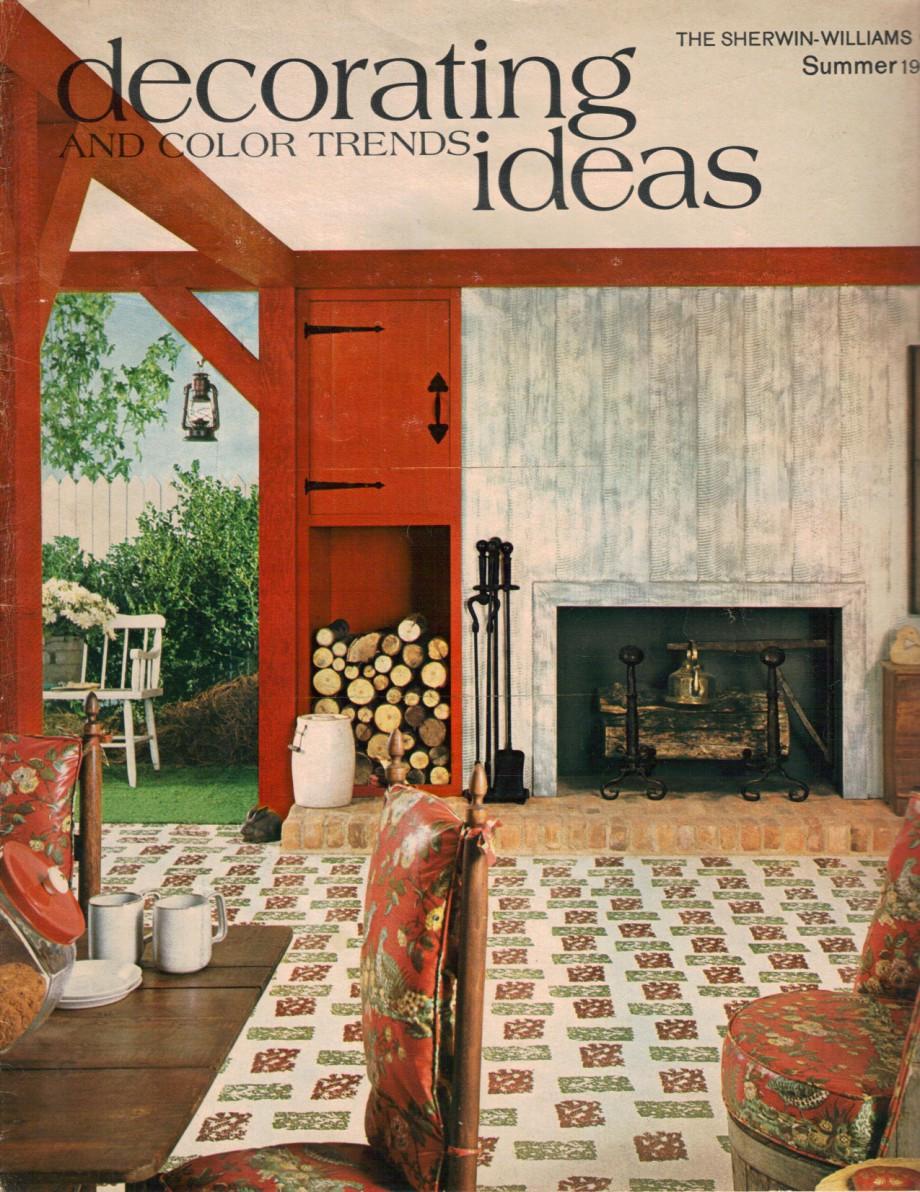 Hippie decor more 1960s interior design ideas 15 pages for Sherwin williams interior design