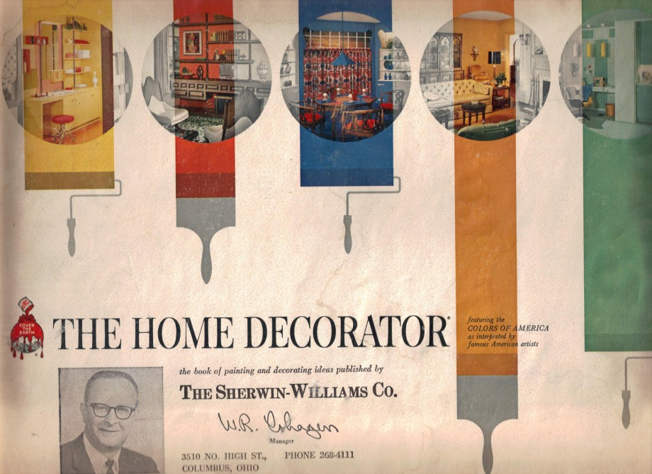 17 groovy home interiors from 1965 retro renovation for Painting and decorating advertising ideas