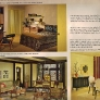 1960s-yellow-gold-and-olive-bedroom-dining-family-room