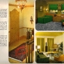1960-yellow-gold-olive-foyer-family-room-bedroom