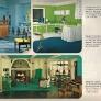 1966-blue-green-aqua-bedroom-kitchen-family-room