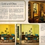 1966-yellow-gold-olive-dining-sitting-room